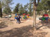 Las obras de remodelación del jardín 'Diego Manzano', en el barrio de la Era Alta, finalizarán la próxima semana