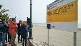 Medio Ambiente inicia el proyecto piloto de restauración de fondos arenosos en la Playa de Villananitos en San Pedro del Pinatar
