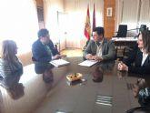 El alcalde se reunió con el presidente del TSJ de Murcia para solicitarle la permanencia del Juzgado de Violencia de Género en San Javier