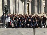NNGG Región de Murcia visita Madrid dentro de la ruta de formación puesta en marcha por la nueva directiva regional