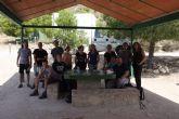 El programa 'MOLINA, VOLUNTARI@S NATURALMENTE' participa en la reforestación del Parque Ecológico Vicente Blanes