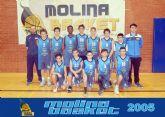 Molina Basket es uno de los dos equipos murcianos que representan a la región en el Torneo FYM de Nerja este fin de semana