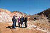 La Comunidad actuará en las instalaciones mineras de Mazarrón para evitar riesgos y proteger el medio ambiente