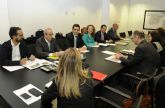 La comision de seguimiento para la integracion ferroviaria de Cartagena analiza las bases y cronograma del estudio tecnico