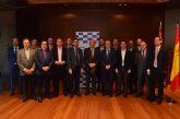 Alberto Garre asegura que la España bien vertebrada en infraestructuras acaba en Alicante mientras en la Región de Murcia empieza el ferrocarril de África