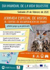 El Centro de Recuperación de Fauna Silvestre El Valle celebrará el