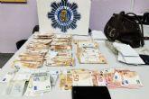 La Policía Local de Cartagena recupera 10.500 euros de un hurto