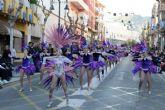 Escuelas de baile, AMPAs y guarder�as deslumbran en un fant�stico desfile infantil de Carnaval