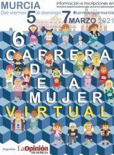 Del 5 al 7 de marzo, cita virtual con la Carrera de la Mujer