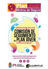 La Concejalía de Juventud de Molina de Segura pone en marcha la Comisión de Seguimiento del Plan Joven
