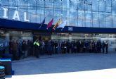 Las Torres de Cotillas guarda un minuto de silencio en recuerdo de las víctimas de Bruselas