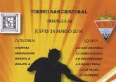 Más de 150 jugadores disputarán el Jueves Santo el Torneo de Fútbol Base de Semana Santa San Cristóbal