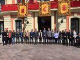 Unidad de todos los grupos del Ayuntamiento de Murcia contra los ataques terroristas en Bruselas