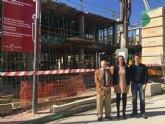 Avanza a buen ritmo la construcción de cinco viviendas de promoción pública en Ojós