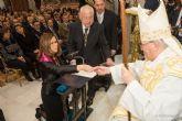 La alcaldesa pide por todos los cartageneros en la Onza de Oro