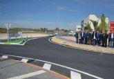 Fomento concluye el primer tramo de la reforma integral de la carretera que une Alguazas y Campos del Río y licitará el segundo antes del verano