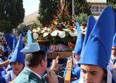 La Guardia Civil escolta el paso del Cristo del Amor en su procesión del Viernes de Dolores 2018