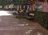 Brigada municipal: trabajos del 23 de marzo