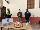 Policía Local de Mula incorpora una nueva Unidad de Dron