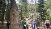Conmemoran el D�a del Libro con una visita por Sierra Espuña para fomentar la lectura y los valores naturales de la Regi�n