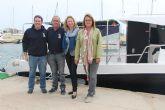 Presentan en San Pedro del Pinatar 'Sparus', la primera embarcación de pesca turismo en el Mar Menor