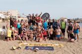 Marta Galera y Danny López campeones de la liga de vóley playa celebrada en Mazarrón