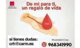 Campaña de donación de sangre del centro regional de hemodonación