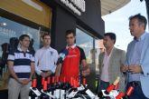 El atleta paralímpico Lorenzo Albaladejo sigue sumando apoyos de empresas locales para sus nuevos retos de cara a los Juegos de Río