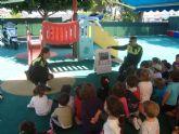 La Policía Local visitó la Escuela de Preescolar de San Javier