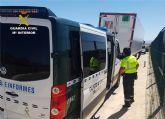 La Guardia Civil detiene a un camionero que sextuplicaba la tasa máxima de alcohol