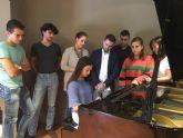 El Conservatorio de Música de San Javier presenta su primer Erasmus+ con una Escuela de Música italiana