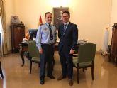El Alcalde traslada al Jefe del Estado Mayor del Aire, el interés municipal por impulsar un Museo de Cultura Aeronáutica en la AGA