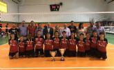 El equipo infantil masculino del Club Voleadores Cieza Campeón de España de voleibol