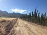 Contin�an las reparaciones de caminos y carreteras de Alhama