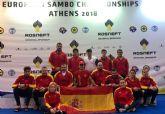 Irene y Raquel D�az logran el 3er y 4� puesto en el Campeonato de Europa de Sambo