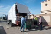 Inician un plan de tratamiento específico para mantener limpios los contenedores en pedanías