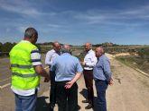 Mejoran la seguridad vial de nueve carreteras que discurren por Aledo, Águilas, Lorca y Puerto Lumbreras