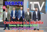 TeleCaravaca emite esta noche el debate con los cinco candidatos a la Alcaldía de Caravaca de la Cruz