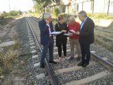Los candidatos de Alcantarilla y Javalí Nuevo firman un acuerdo para hacer frente común por la variante ferroviaria ante el Gobierno de España