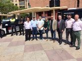El Ayuntamiento de Molina de Segura presenta los nuevos vehículos destinados a Policía Local