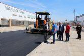 Comienza la reposición del asfalto en ocho calles del Polígono Industrial Oeste, con la ayuda recibida del Gobierno Regional de 500.000 euros
