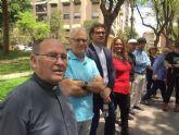 El Paseo de las Letras de Molina de Segura se amplía con la incorporación de seis nuevos escritores