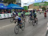 Las jóvenes promesas del ciclismo murciano ofrecen una gran exhibición en Las Torres de Cotillas
