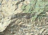 Ciclista herido tras sufrir una caída en la ascensión a la Sierra de Peña Rubia (Lorca)