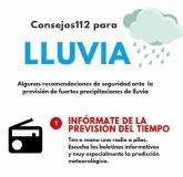 El Ayuntamiento, Policía Local y Protección Civil vigilan la alerta amarilla por fuertes lluvias en La Unión