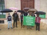 Vecinos del Purgatorio se concentran un domingo más pidiendo dignidad: 'Queremos llegar a nuestras casas'