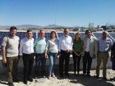 Esther Clavero, Pedro Saura y Rafael González Tovar defiende la apuesta por la energía fotovoltaica