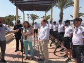 El director general de Seguridad Ciudadana asiste a la presentación de la Unidad de Playa de la Policía Local de San Pedro del Pinatar