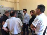 El alcalde destaca la  coordinación de los servicios de mantenimiento de la red de saneamiento en La Manga  para ofrecer el mejor servicio