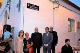 Desde ayer Alcantarilla cuenta con la nominación 'Párroco D. Luis Martínez Mármol' a una de sus calles